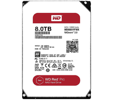 Жесткий диск HDD WD SATA3 8Tb Red Pro for NAS 7200 128Mb (WD8001FFWX)